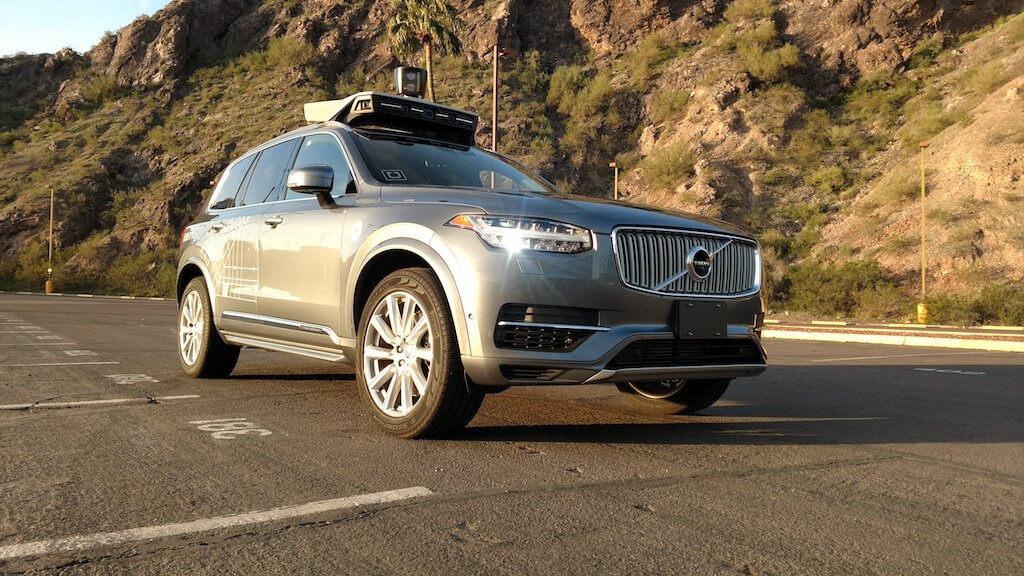 crash, uber, self-driving cars, volvo xc90