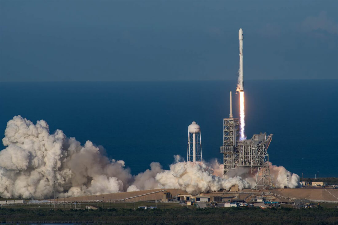 launch, space, spacex, rocket, reusable
