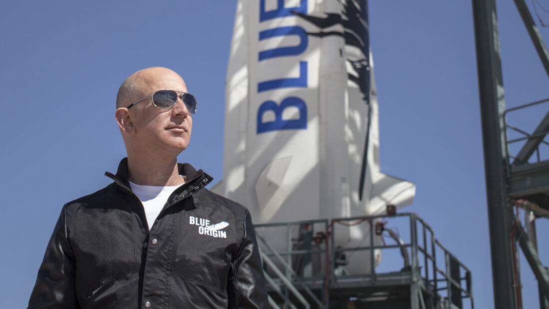 amazon, space, jeff bezos, rocket, blue origin, tourism
