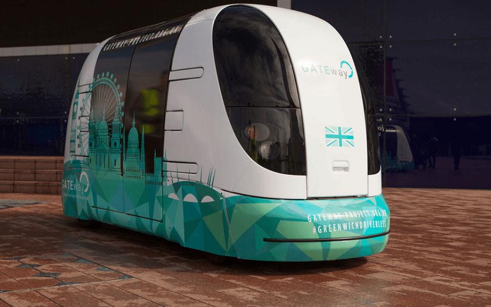 Αποτέλεσμα εικόνας για London self-driving shuttle
