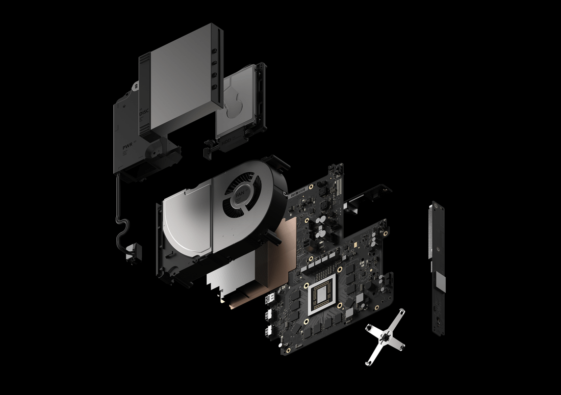 xbox, specs, project scorpio, playstation pro