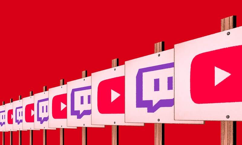 youtube, kotaku, twitch