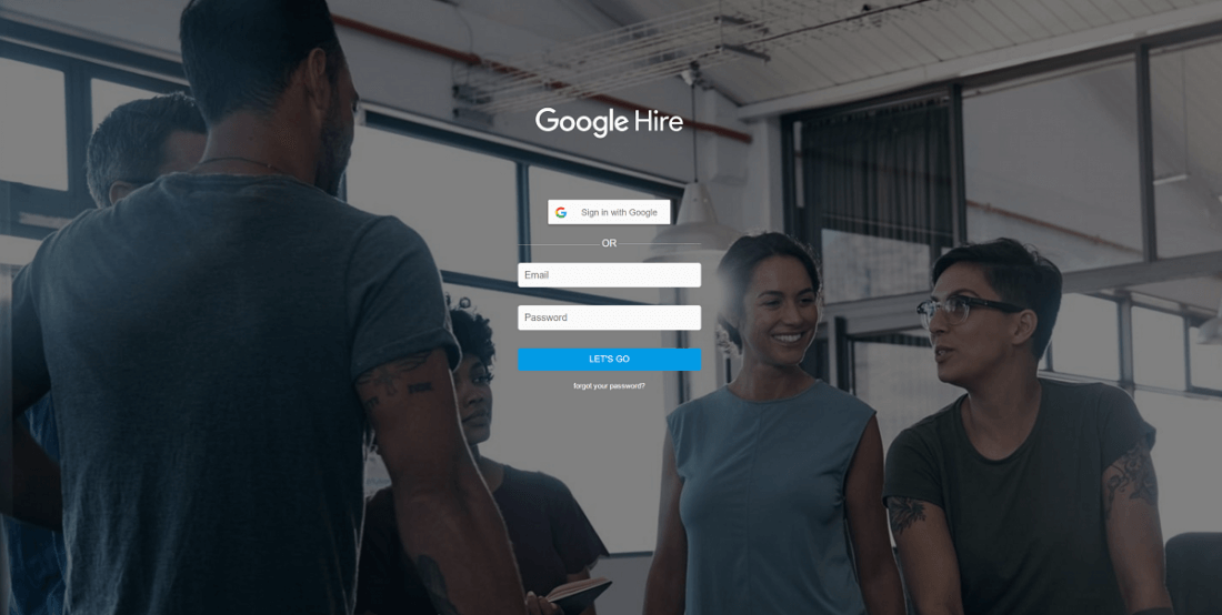 Google launches job application website, Google Hire