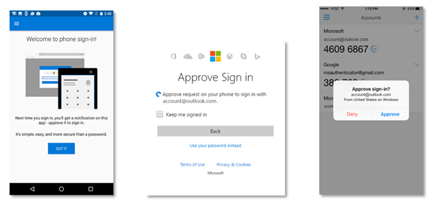 two-factor authentication, microsoft authenticator