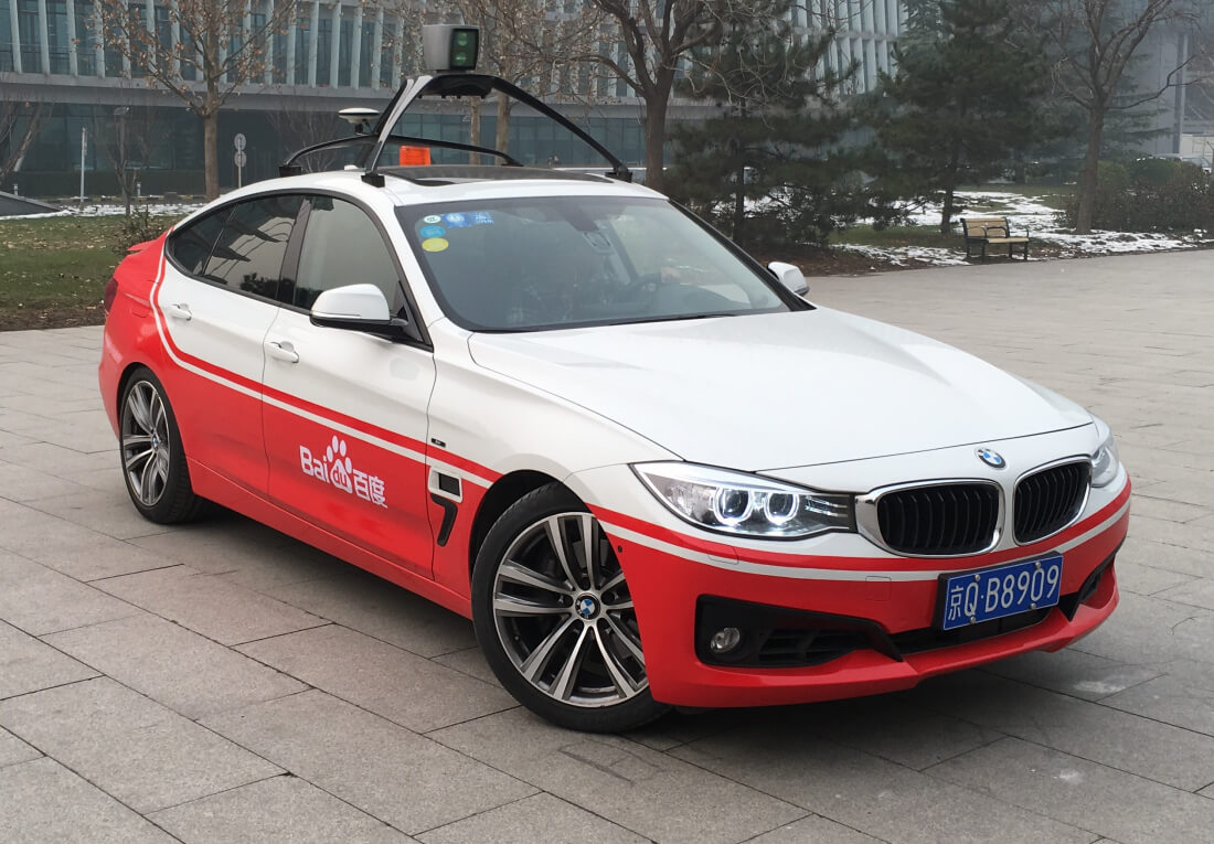 baidu, self-driving cars