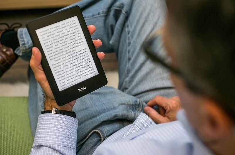 kindle, e-books