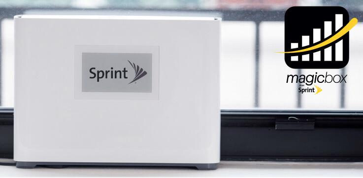 Sprint's Magic Box boosts cell signals