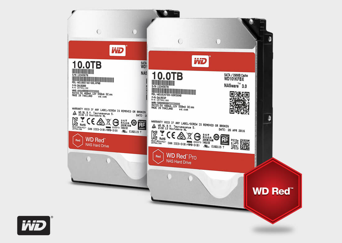 hdd, western digital, nas, wd, 10 tb, wd red