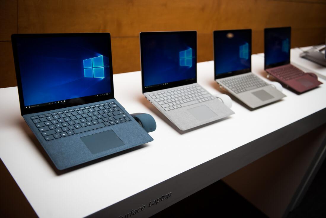 adobe, linux, windows 10, windows 10 s