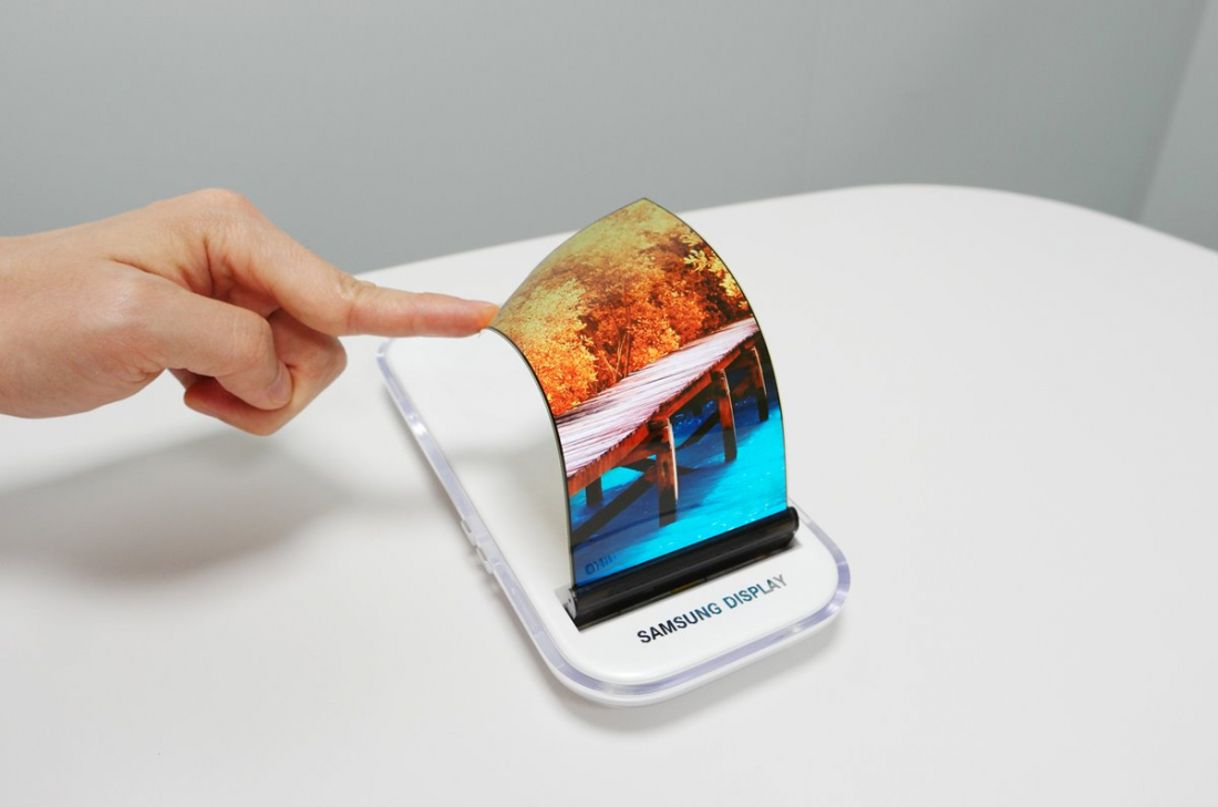 Samsung Display showcases stretchable OLED