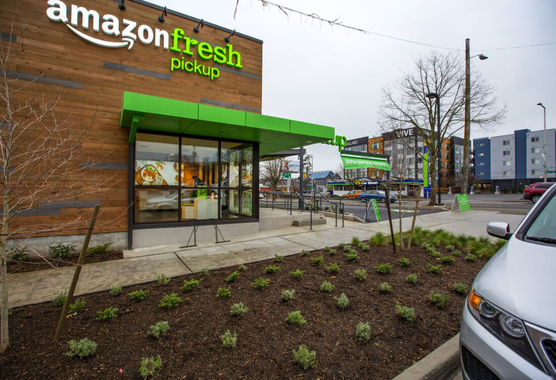 amazon, amazonfresh, grocery pickup