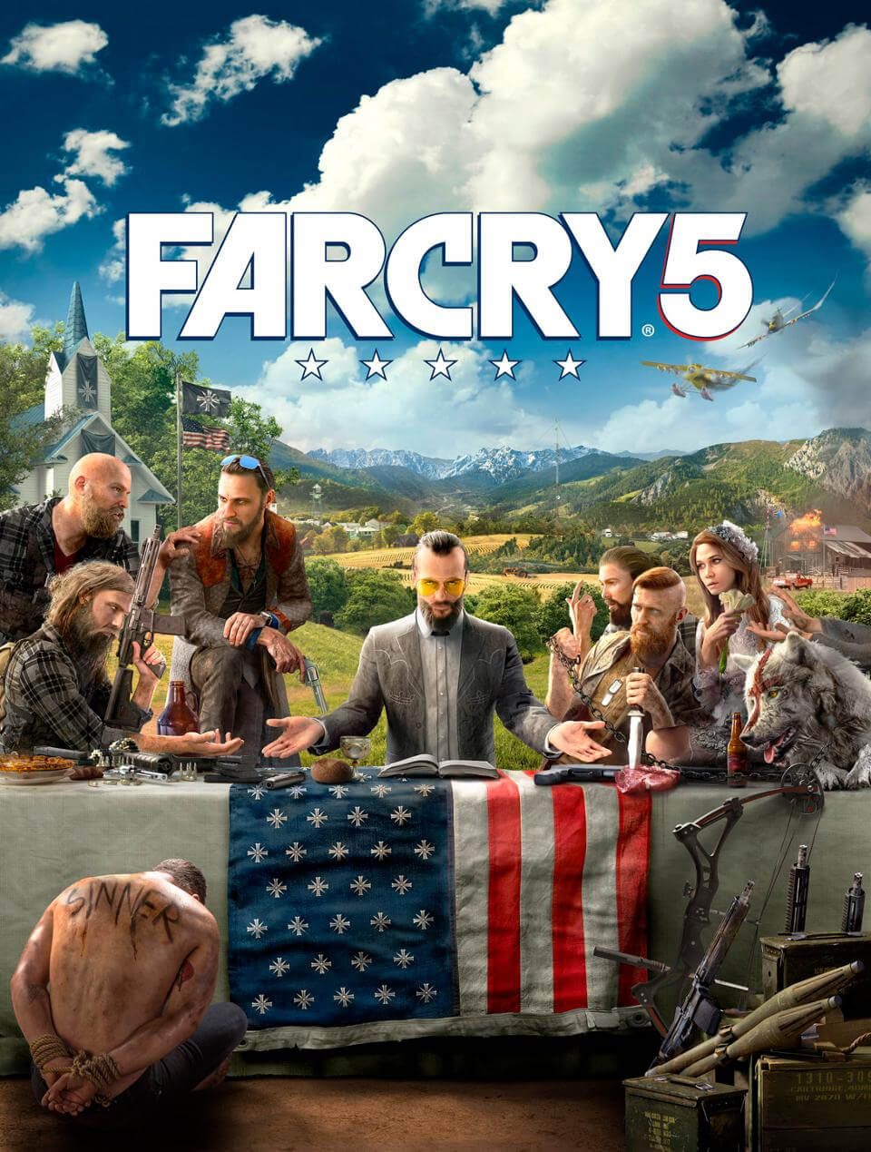 ubisoft, e3, e3 2017, far cry 5