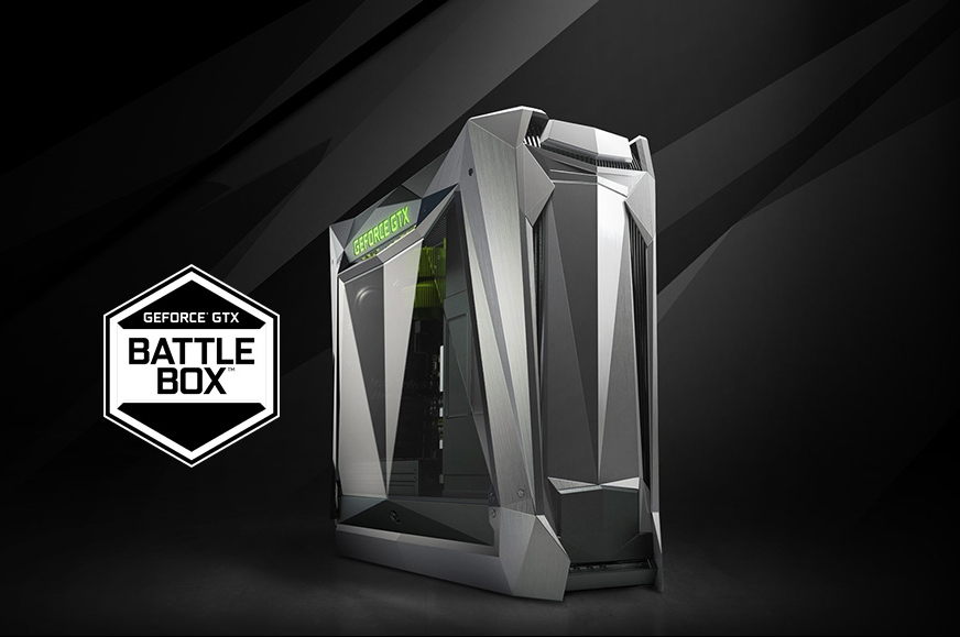 nvidia, gaming pc, geforce gtx battlebox