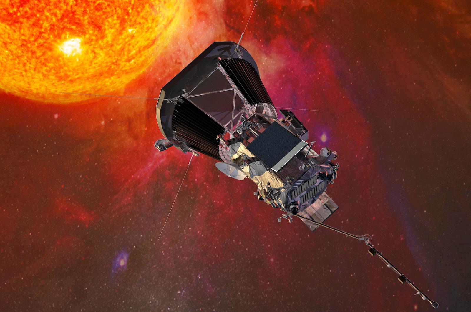 space, nasa, sun, parker solar probe