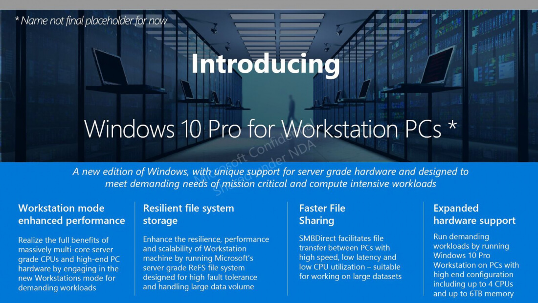 leak, windows 10, windows 10 pro for workstation pcs, windows 10 for advanced pcs