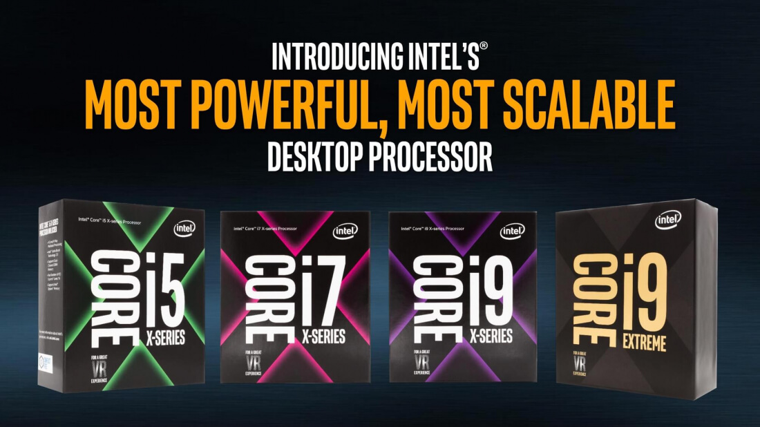 Intel's first Core X-series CPUs go up for pre-order today, first reviews hit the web