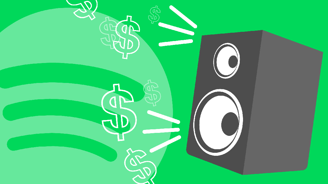 Spotify is letting record labels pay to promote songs in users' playlists