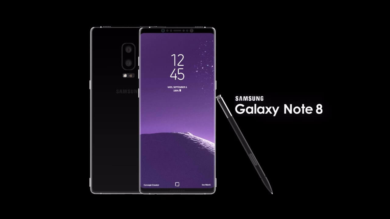 Samsung Galaxy Note 8 Rumors