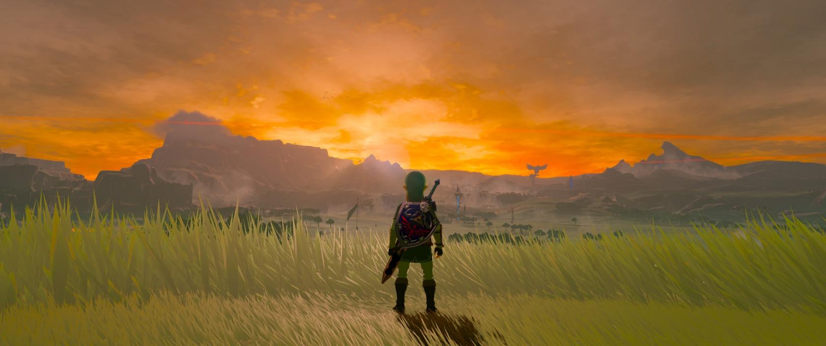Gfx Pack Boosts Visuals In Zelda Breath Of The Wild S Pc Version