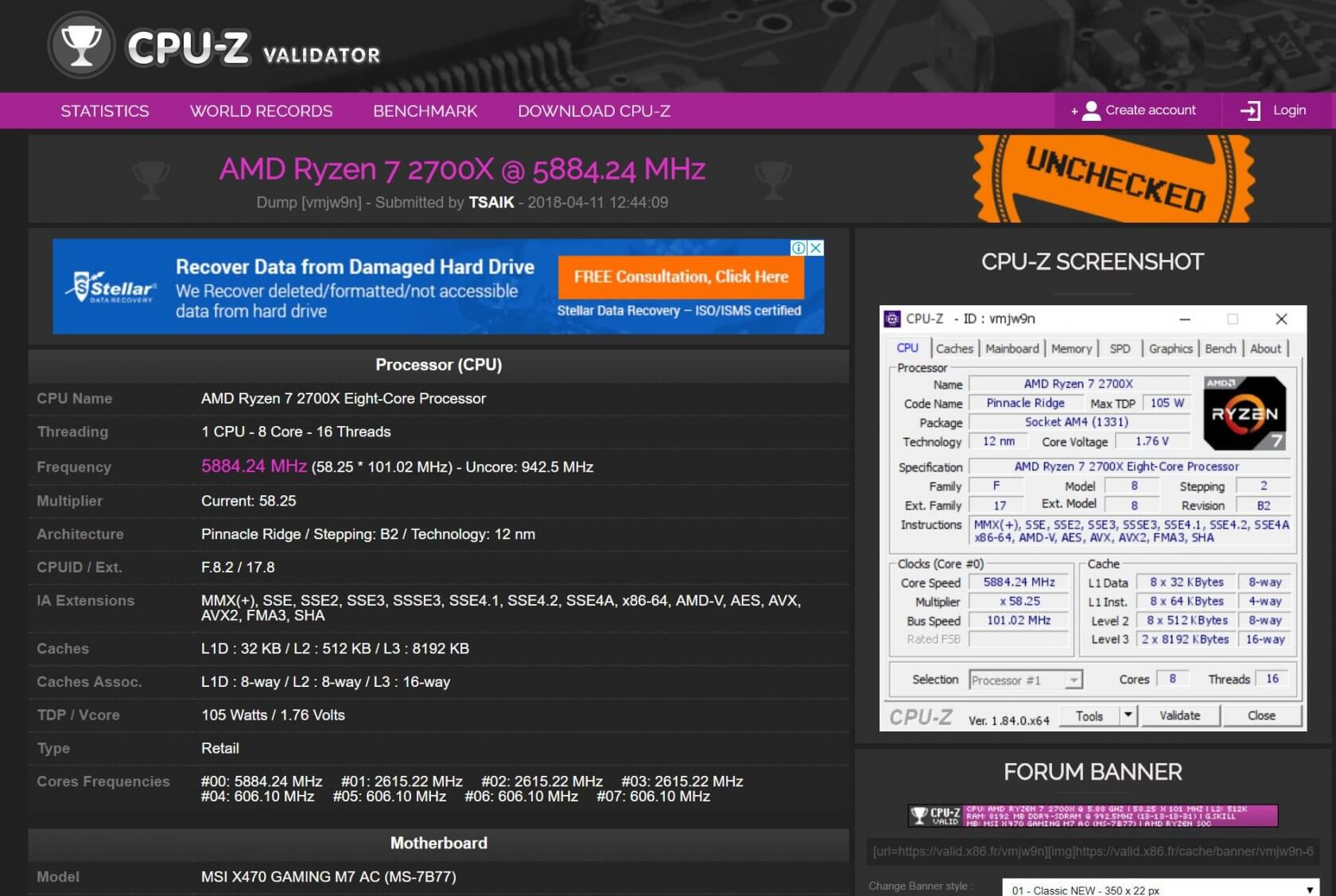 Ryzen 2nd-gen chips are already being overclocked beyond 5 8 GHz