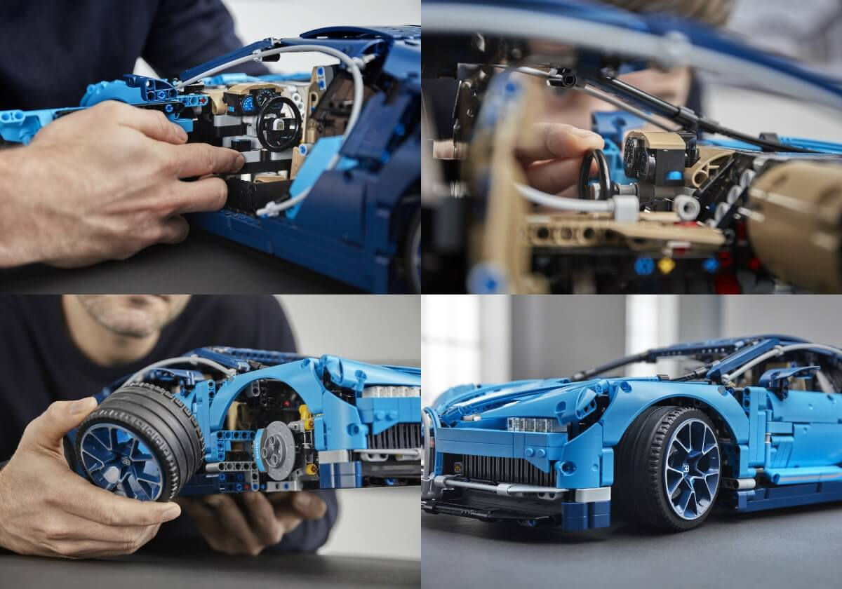 Lego S 1 8 Bugatti Chiron Technic Kit Comes With 3599 Pieces And Moving Parts