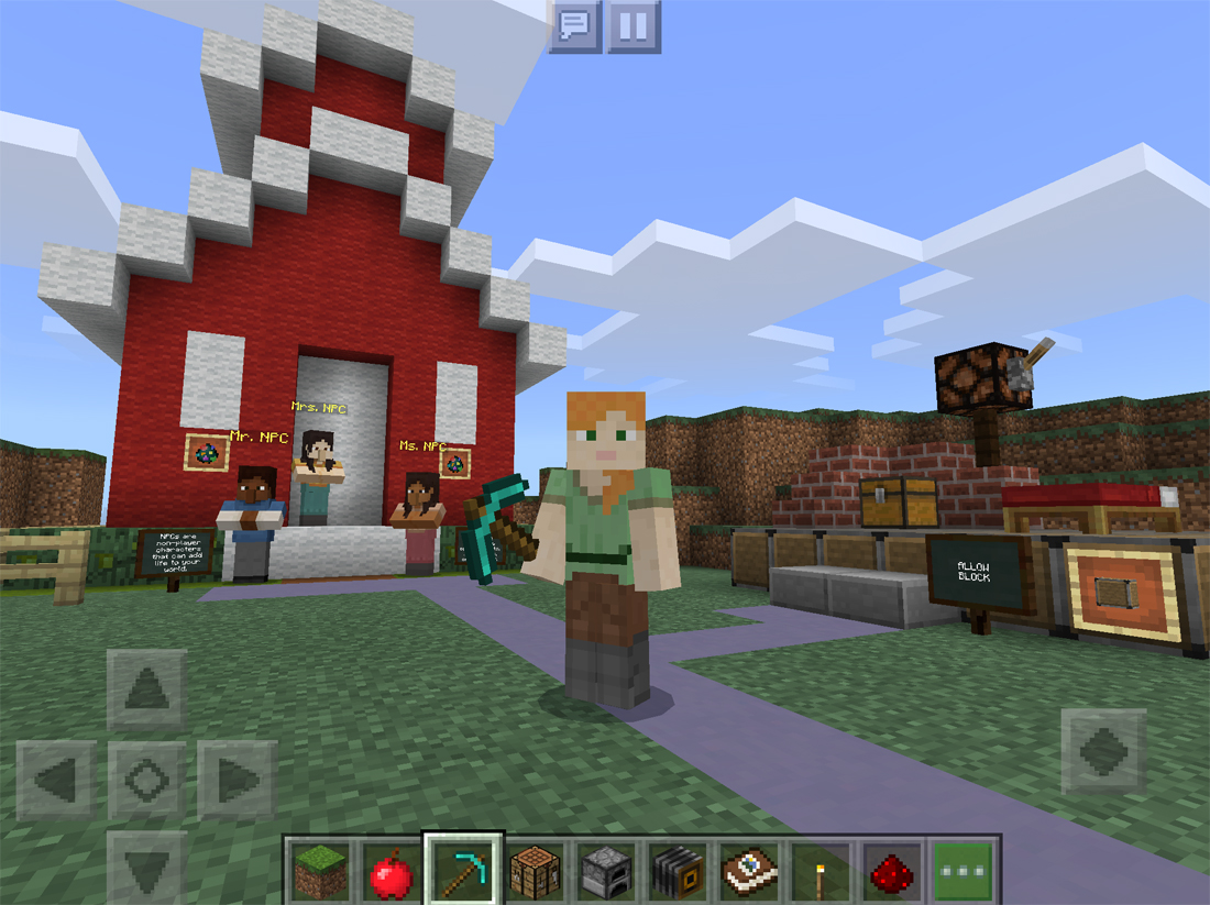 Minecraft: Education Edition is coming to the iPad next month