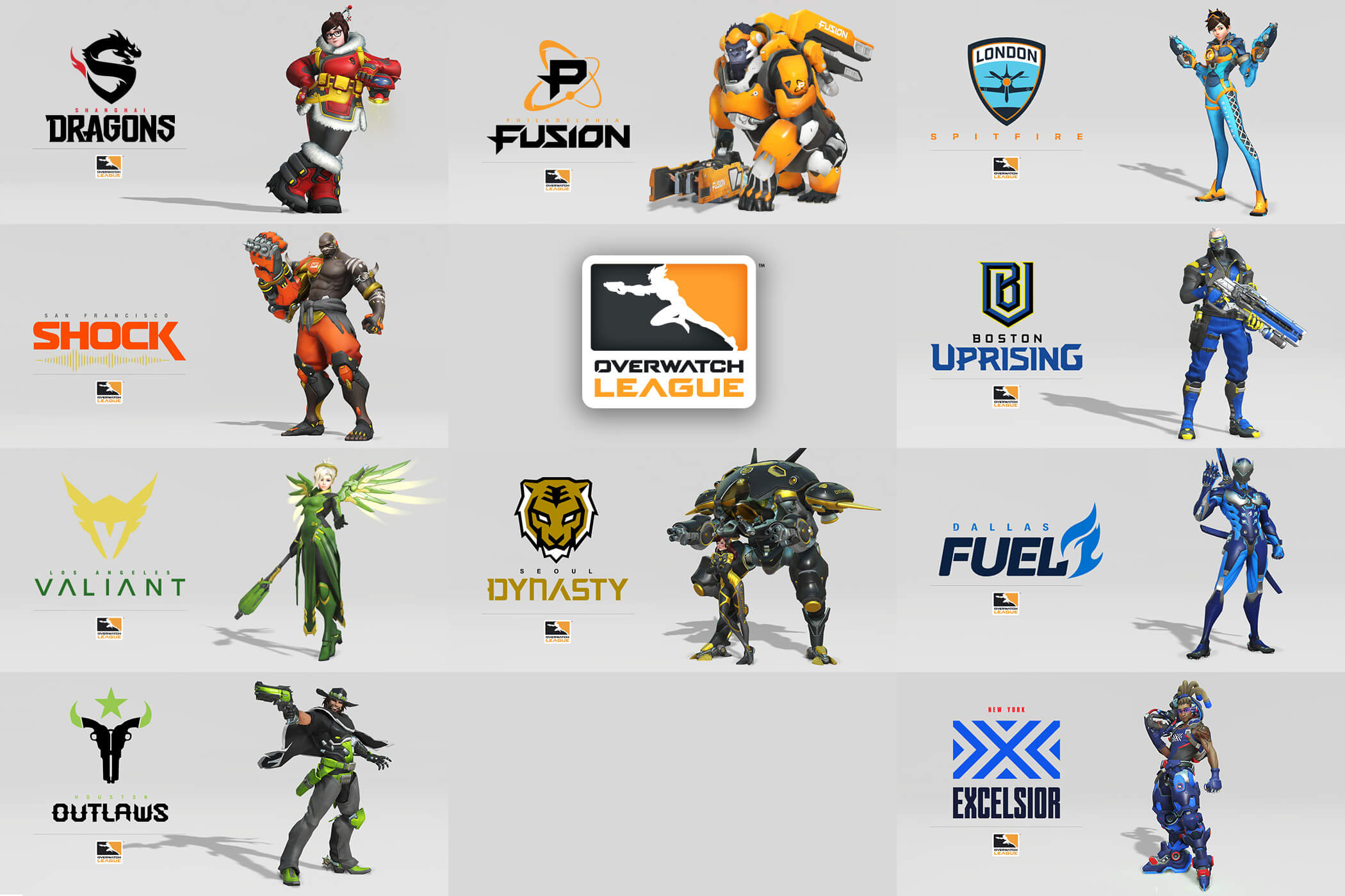 Overwatch Esport Teams