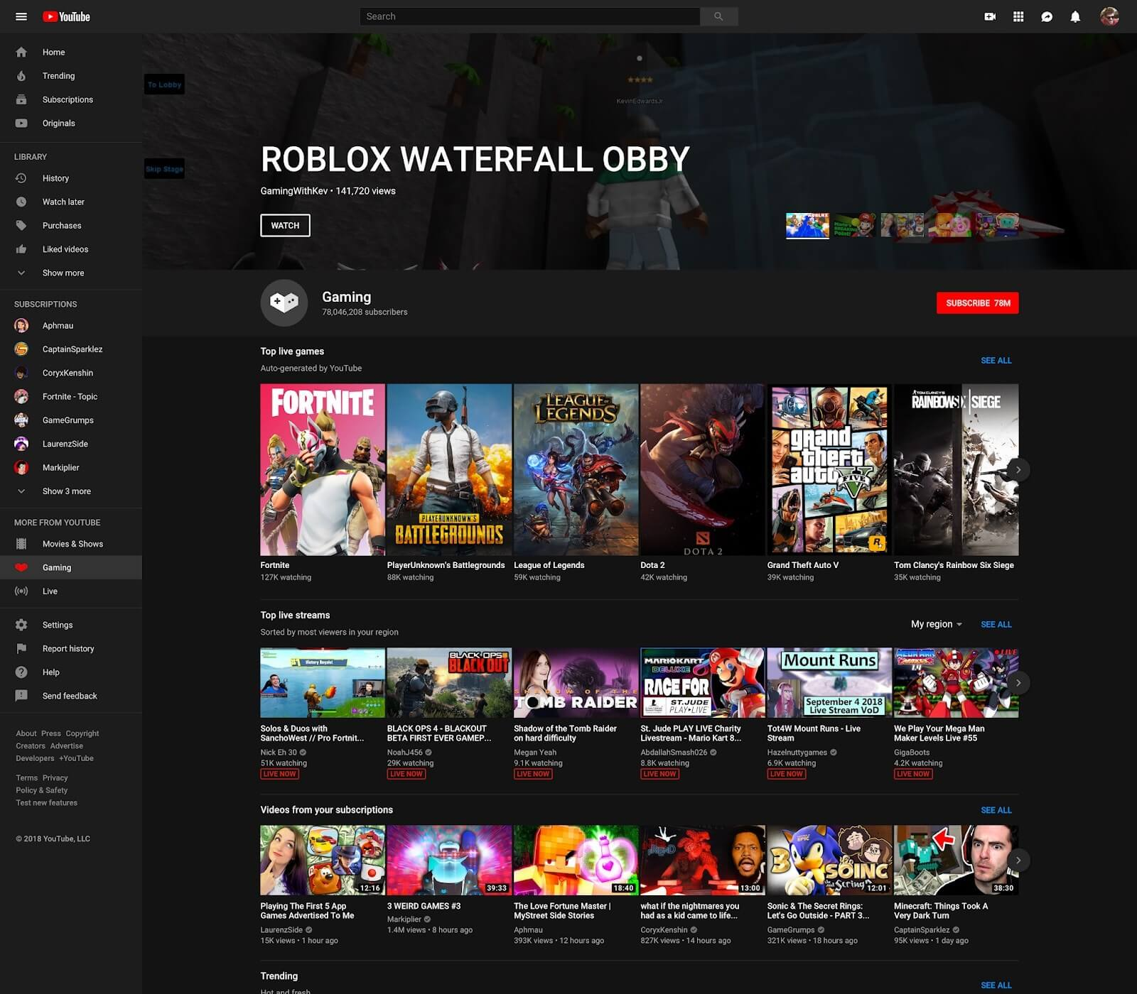 YouTube Gaming App To Close, Many Features Move To Main