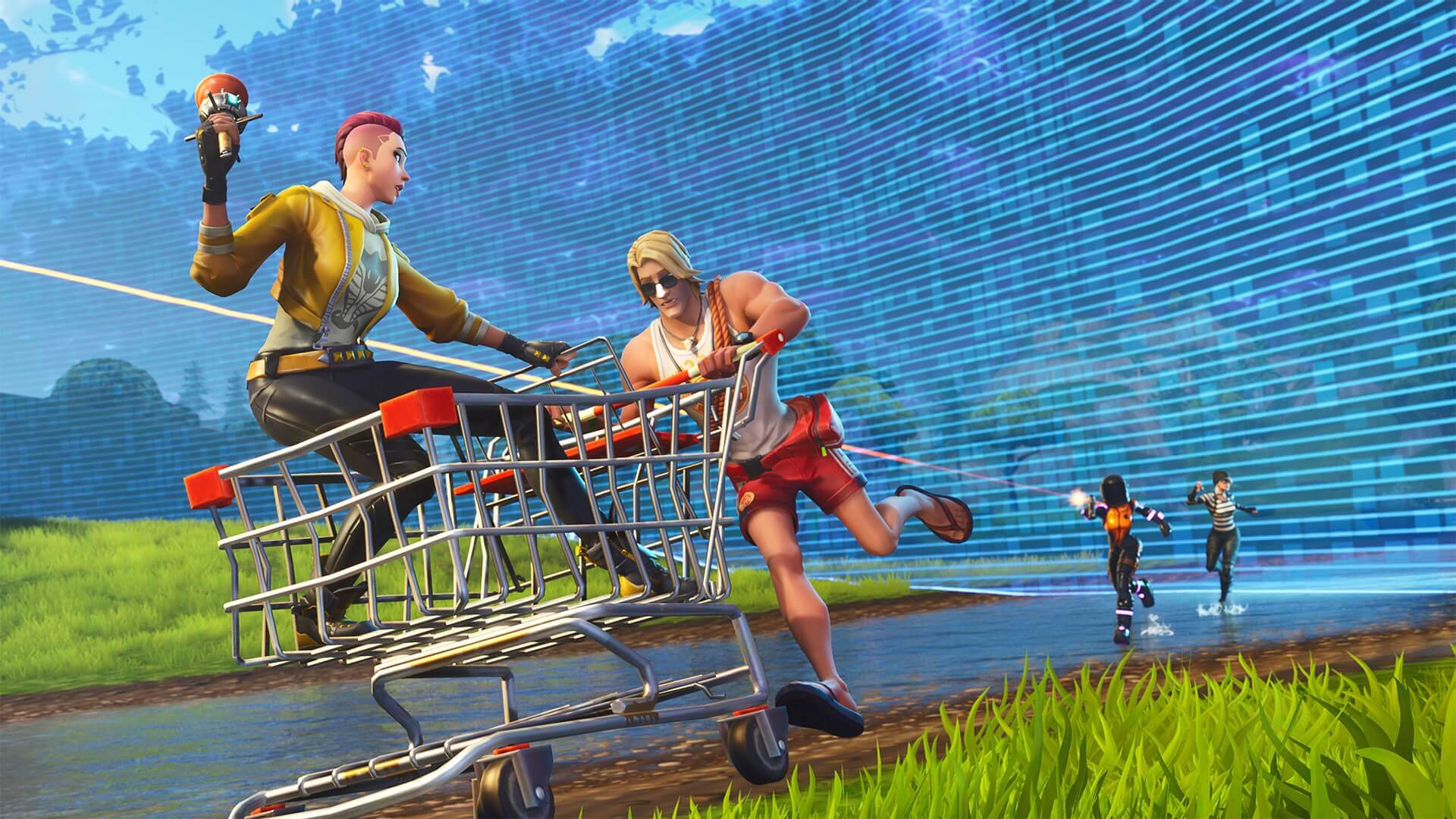 How To Cheat Fortnite Save The World Fortnite S Co Op Mode Save The World Will Not Be Free To Play This Year Techspot