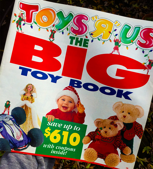 Amazon Fills In For Toys R Us Is Mailing Out A Printed Toy Catalog For The Holidays
