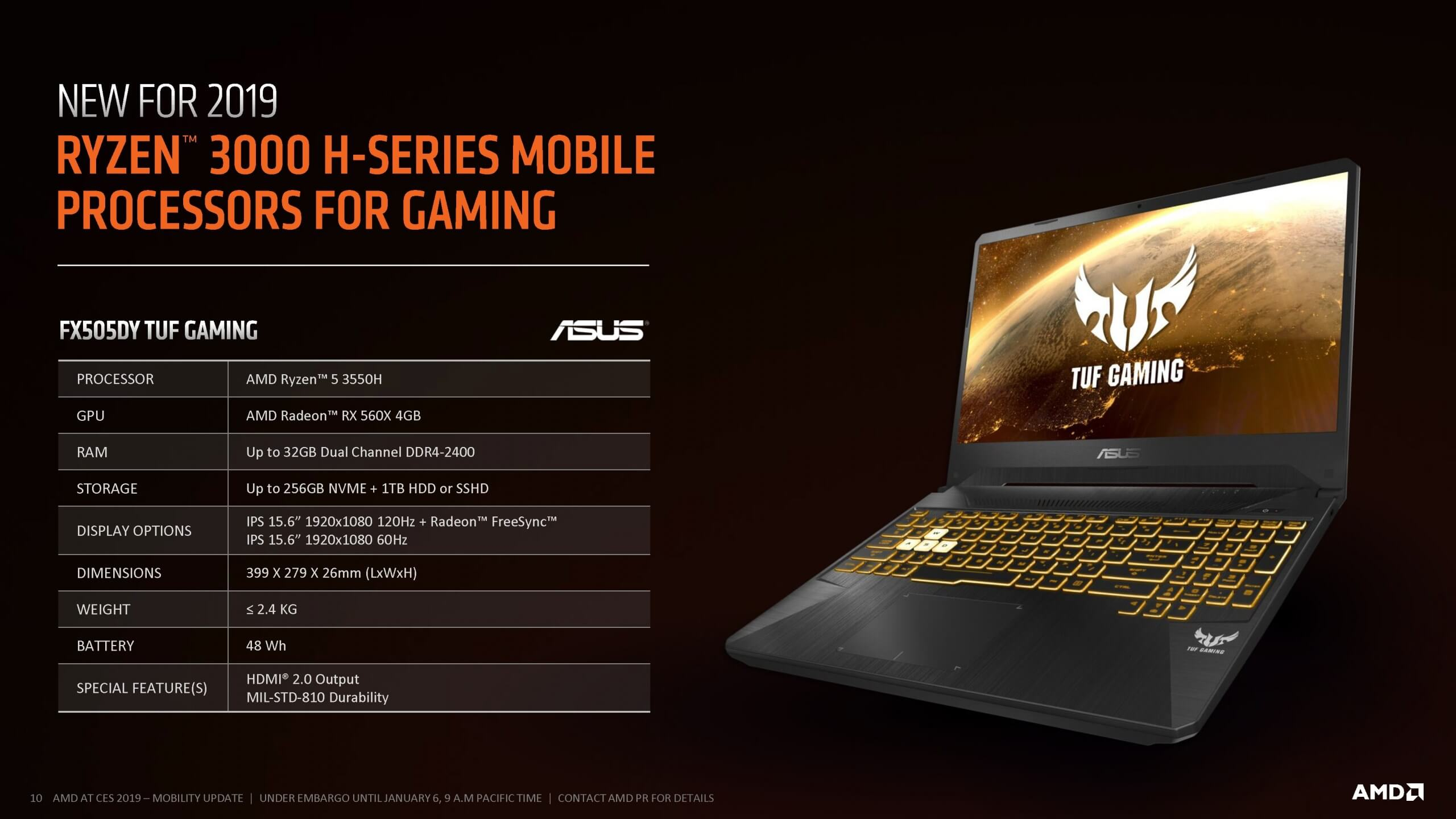 Ryzen Mobile gets a boost, wants in the entry-level gaming laptop