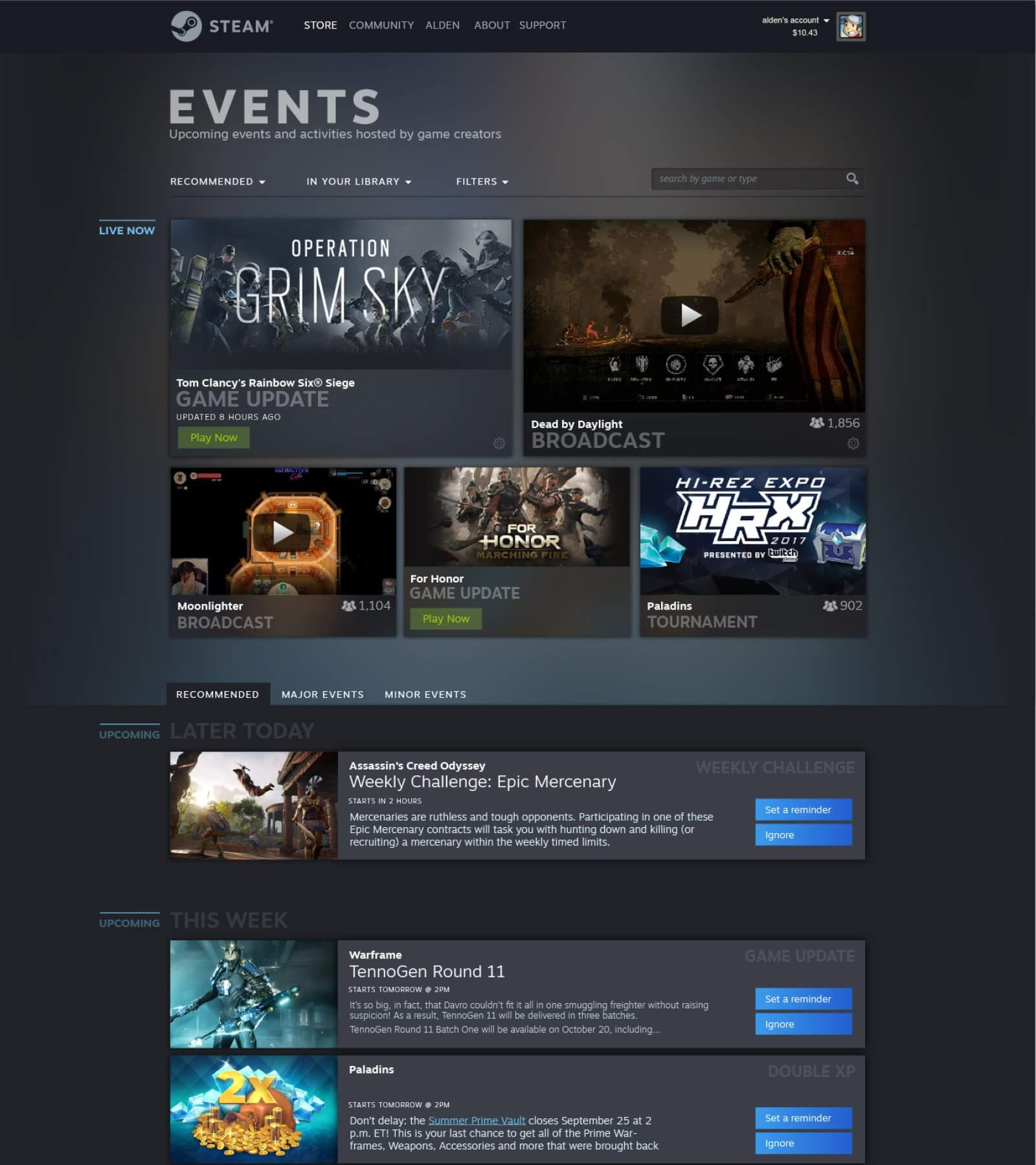 Valve is revamping your Steam Library, introducing Events