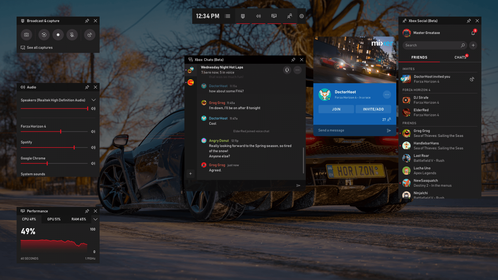 Windows Game Bar Is Getting Lots Of Useful Integrations
