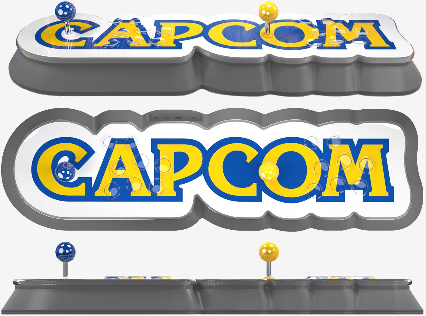 Capcom S Home Arcade Is A Plug And Play Stick With 16 Pre