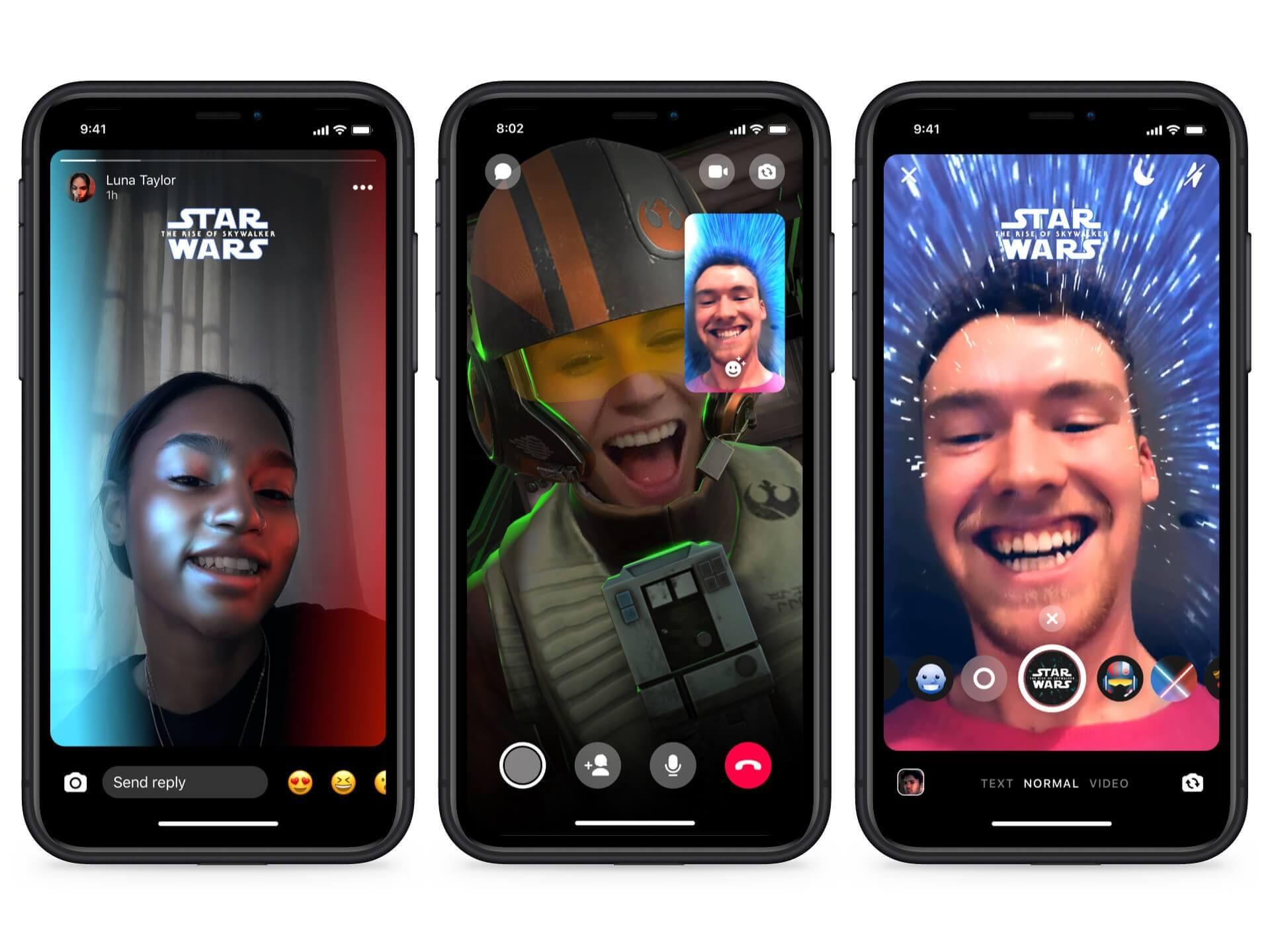 Facebook S Messenger Now Has A Star Wars Themed Dark Mode Techspot