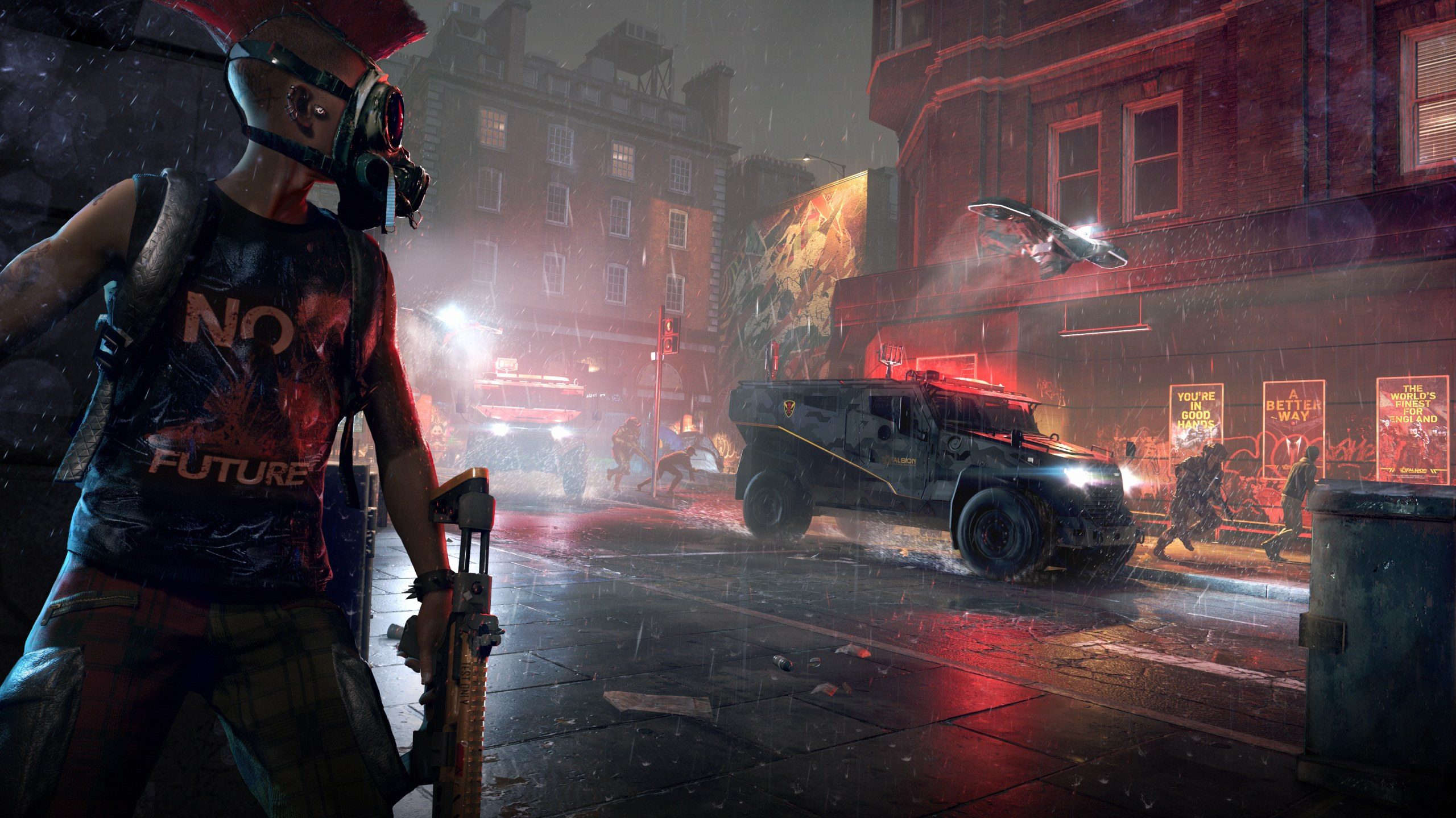 Watch Dogs Legion Has Millions Of Procedurally Generated Characters Who Are All Playable