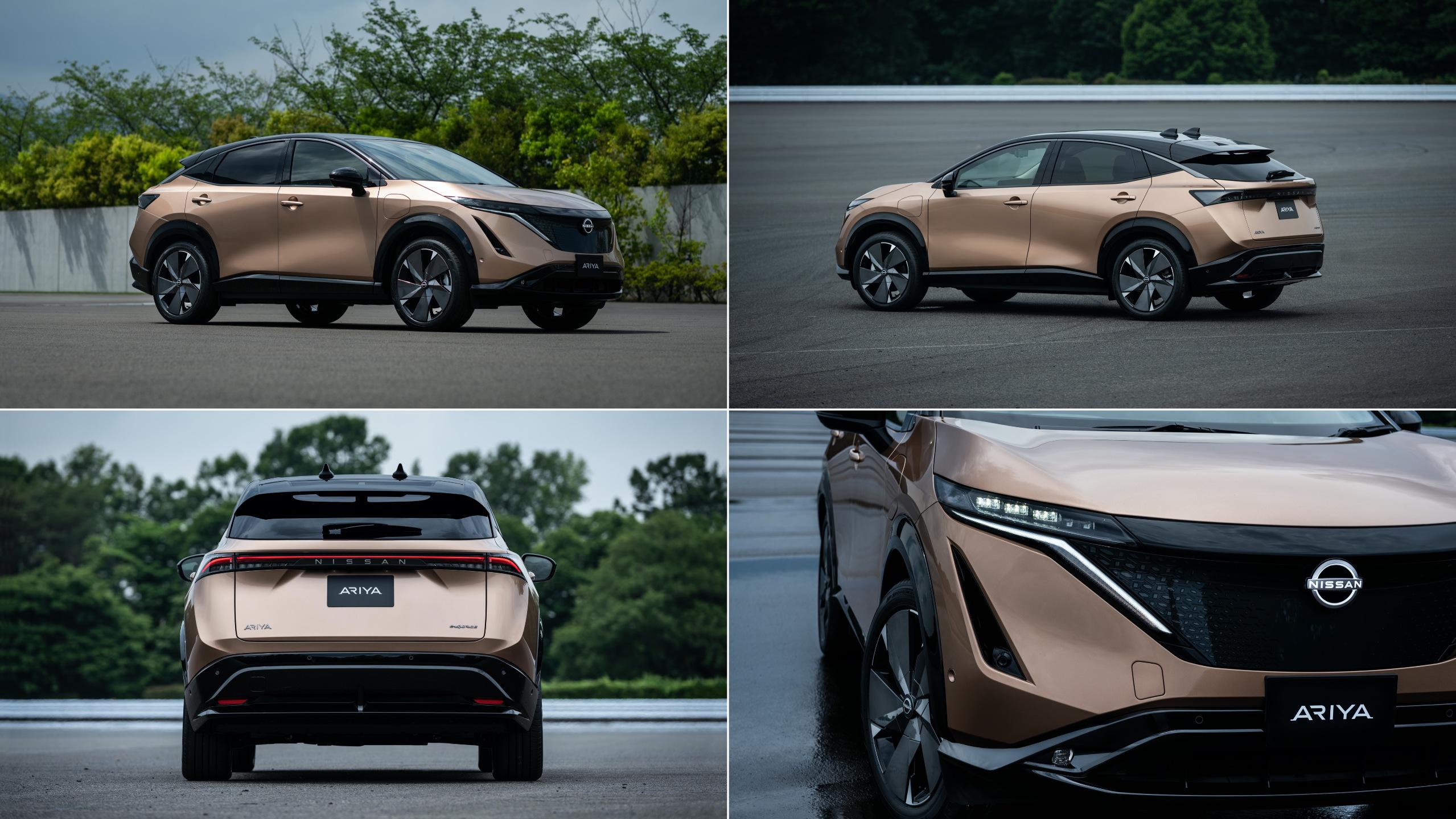 Nissan Unveils The Futuristic Looking Ariya Electric Suv