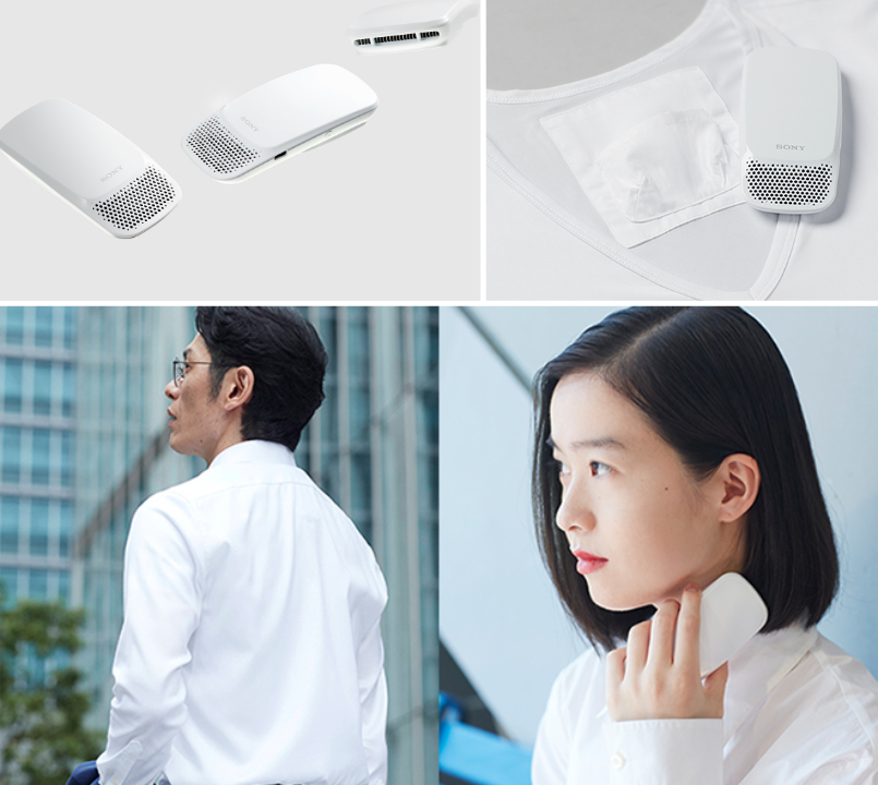 Sony's latest quirky gadget is a wearable air conditioner