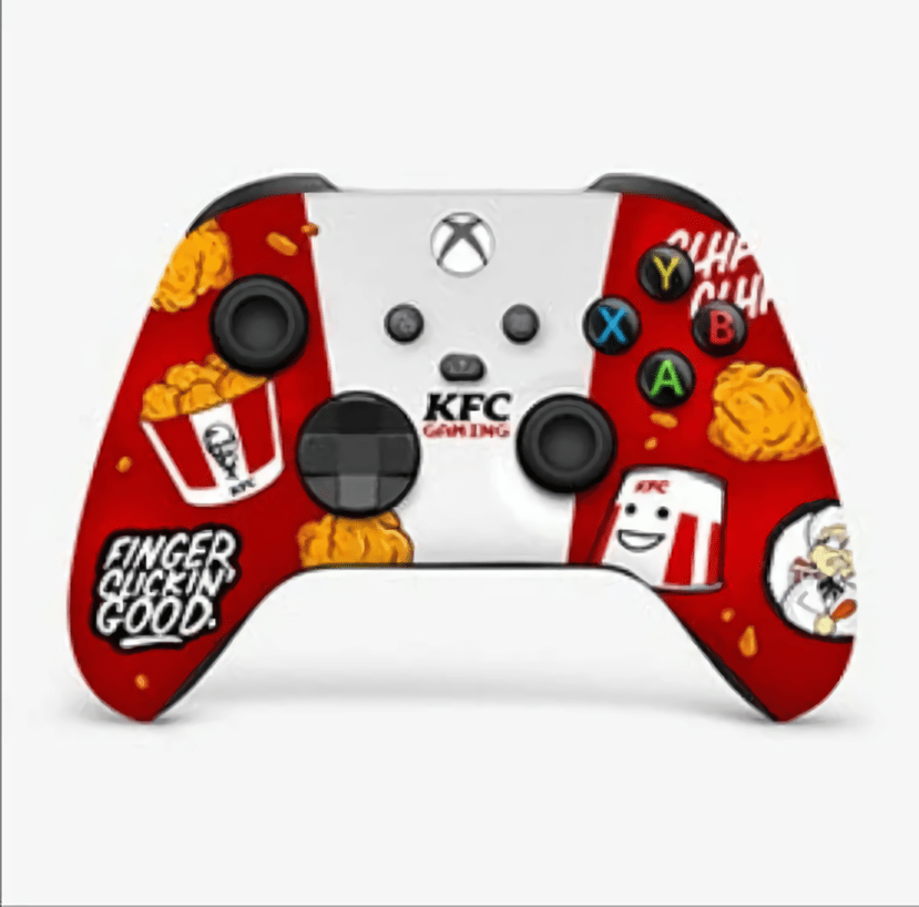 Kfc And Xbox Team Up For This Hideous Xbsx Controller