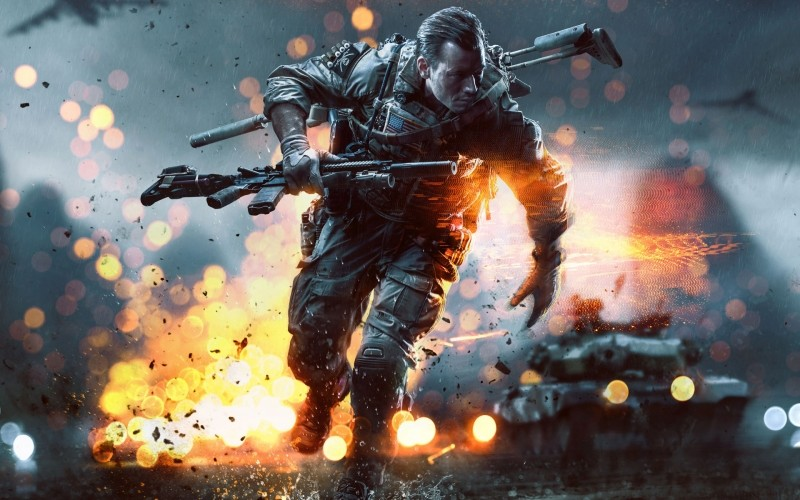 gaming, dice, battlefield 4