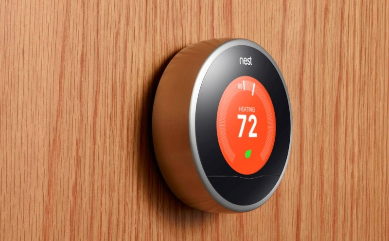 google, thermostat, nest, smoke detector