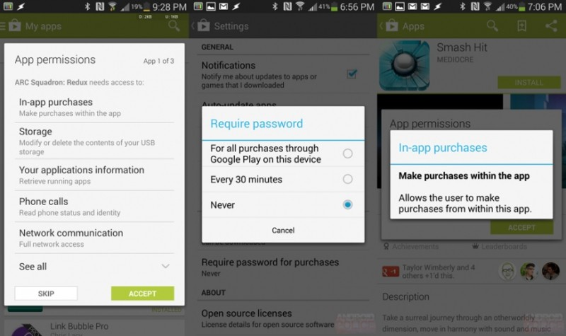 google, android, google play store, software update