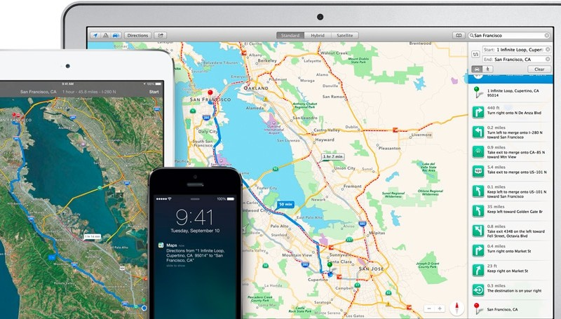 apple, ios, mapping, maps, apple maps, ios 8