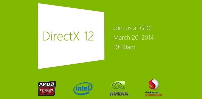 microsoft, directx, api, direct3d, directx 12, gdc 2014