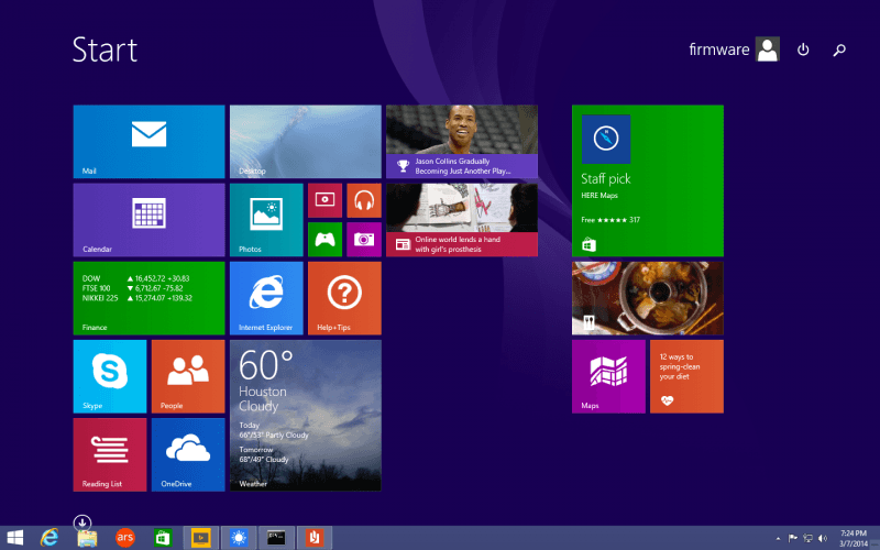 microsoft, windows, windows 8, update, start menu, start, windows 8.1, update 1, build 2014