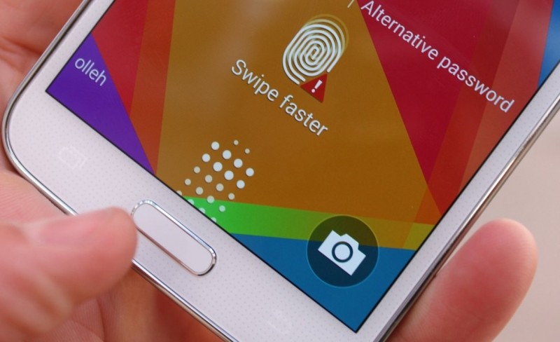 samsung, security, fingerprint, galaxy s5, fingerprint scanner, hack