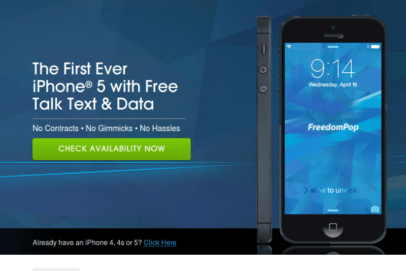 iphone, iphone 5, iphone 4, plans, freedompop, virtual