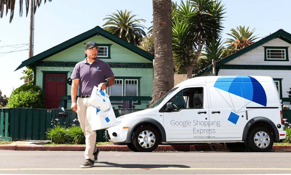 los angeles, new york, google shopping express