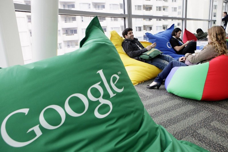 google, employees, demographics, diversity report