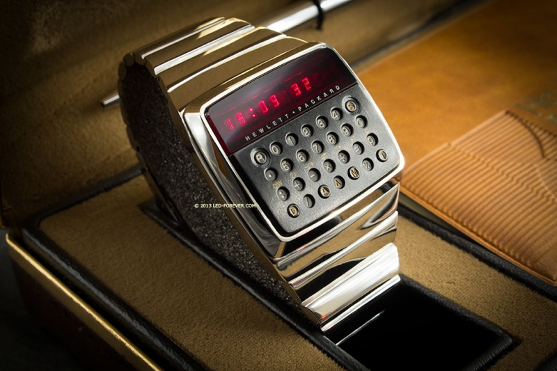 hp, prototype, hewlett packard, smartwatch, calculator